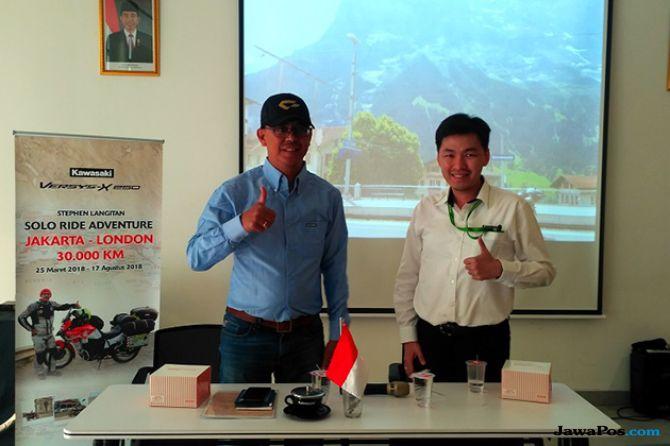 Stephen Langitan: Melahap Jalur Jakarta-London Sepanjang 27.400 Km