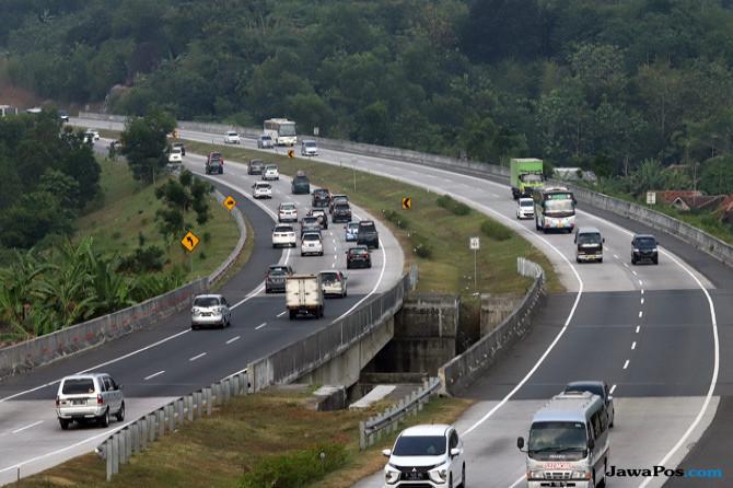 Strategi Jasa Marga Hadapi Arus Mudik, Kemacetan di Ruas Tol Turun