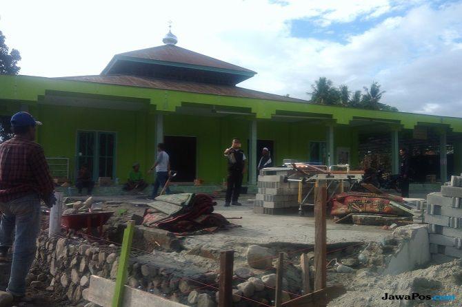 Subhanallah! Gelombang Tsunami Hanya Lewat di Atas Kubah Masjid Ini