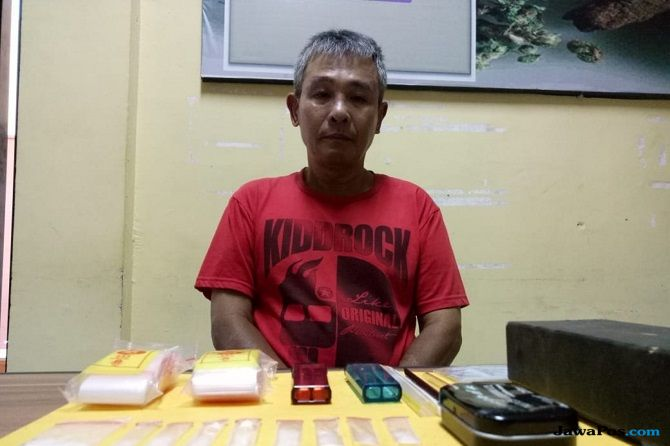 Sudah Tua Jualan Narkoba, RP Dibekuk Polisi Tanpa Perlawanan