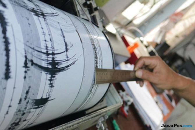 Sukabumi Diguncang Gempa 5,1 Skala Richter