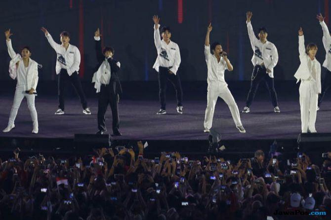 Super Junior dan Ikon Sukes Meriahkan Penutupan Asian Games Ke-18