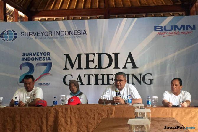 Surveyor Indonesia Bukukan Laba Rp165 Miliar di Semester I-2018