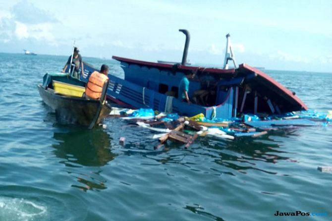 Tabrakan dengan Kapal Tanker Berbendara Panama, KM Makmur Tenggelam di OPL Singapura