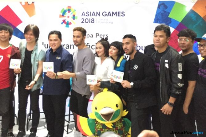 Tak Ada di Album Asian Games, Agnez Mo Tampil di Panggung Opening?