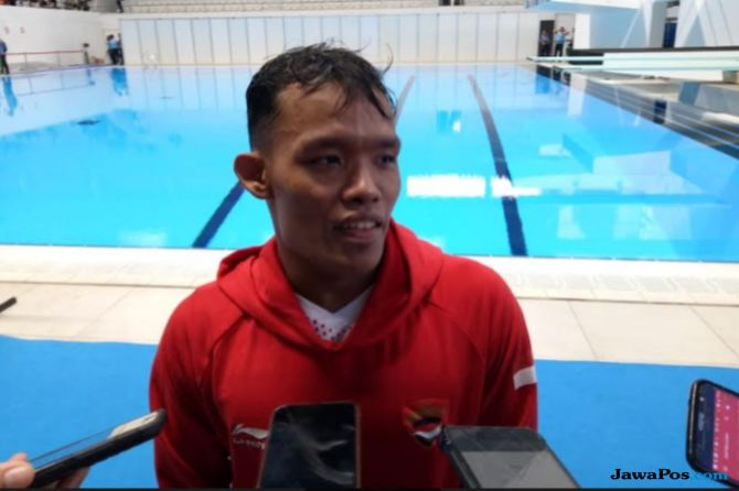 Asian Para Games 2018, Aris Wibawa, Renang