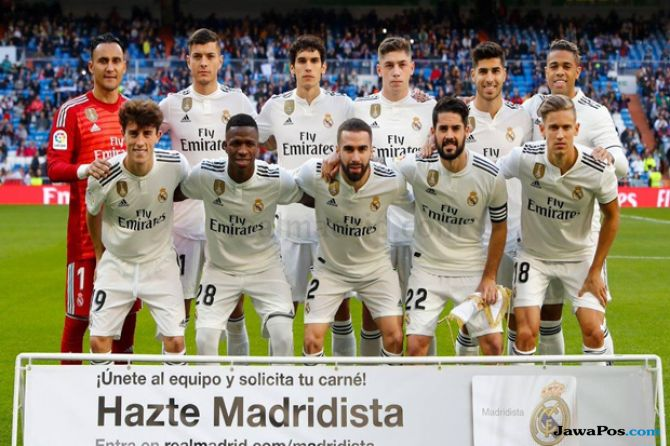 Copa del Rey 2018-2019, Real Madrid, Melilla, Real Madrid 6-1 Melilla