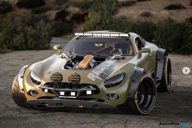 Tampang Keren Mercedes-AMG GT Jadi Supercar