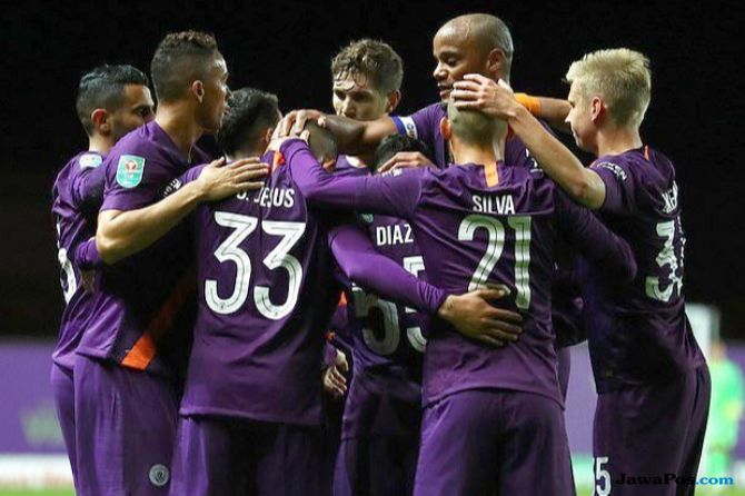 Piala Liga Inggris, Carabao Cup 2018-2019, Manchester City, Oxford United