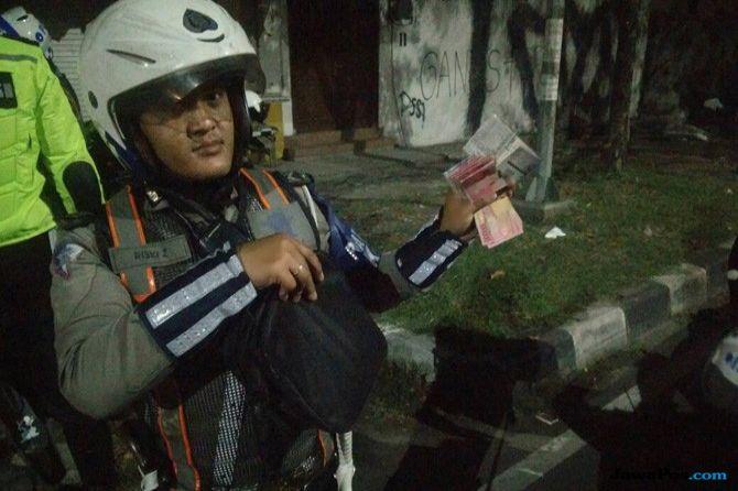 Taruhan Rp 8 juta, Dua Gaco Balap Liar Diciduk Polisi