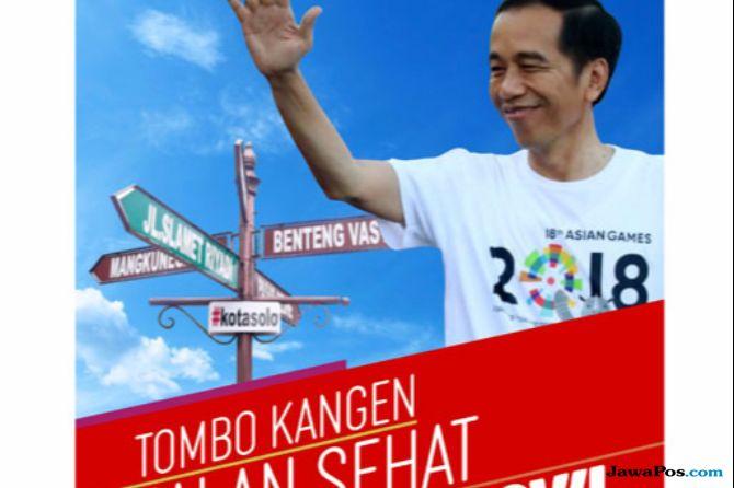 Selebaran Jalan Sehat Jokowi