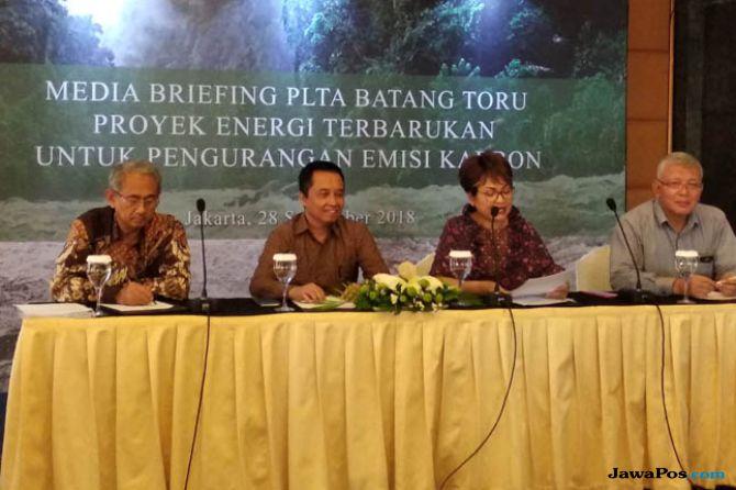 Telan Investasi Rp21 Triliun, Ini Target Daya Listrik PLTA Batang Toru