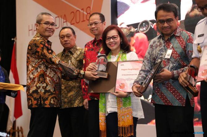 Telkom Raih Penghargaan Pengendalian Gratifikasi Terbaik Dari KPK