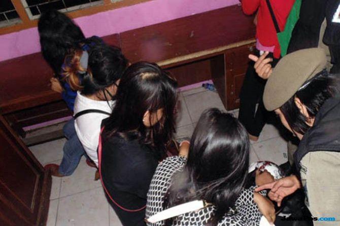 Tempat Hiburan Berkedok Kafe Eskrim Digrebek, Puluhan Remaja Diciduk