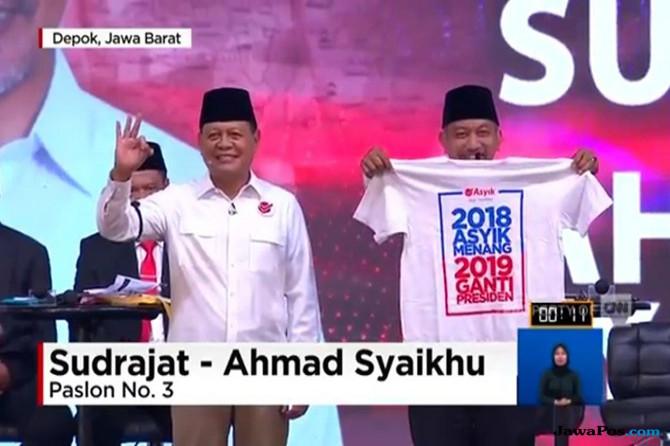 Sudrajat-Ahmad Syaikhu