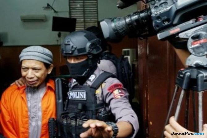Terduga Teroris Gedebage Bandung Murid Aman Abdurahman