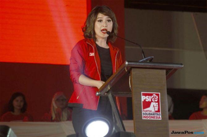 Ketua Umum Partai Solidaritas Indonesia (PSI) Grace Natalie