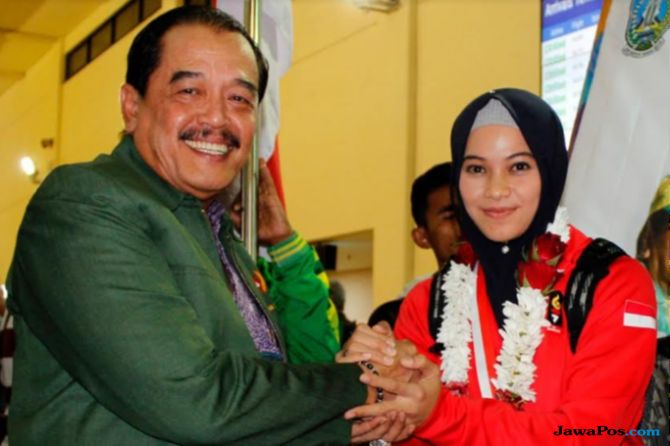 Sarah Tria Monita, Asian Games 2018, Presiden Jokowi