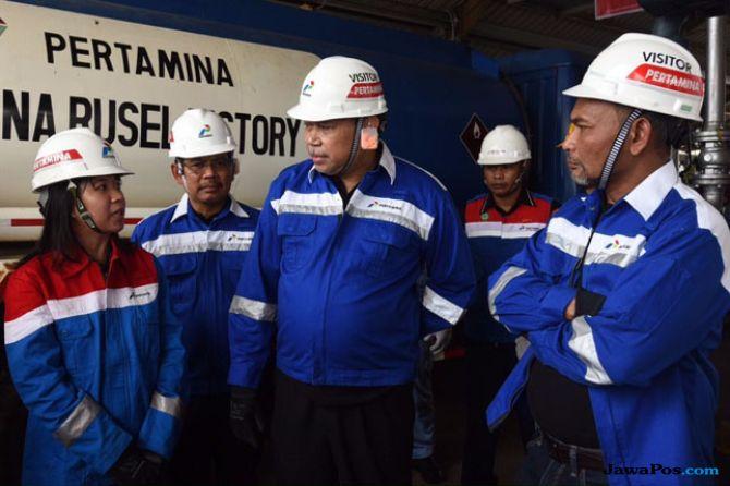 Direktur Logisitk Supply Chain dan Infrastruktur Pertamina Gandhi Sriwidodo