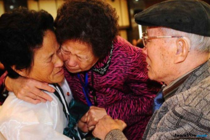 keluarga korea akan bertemu