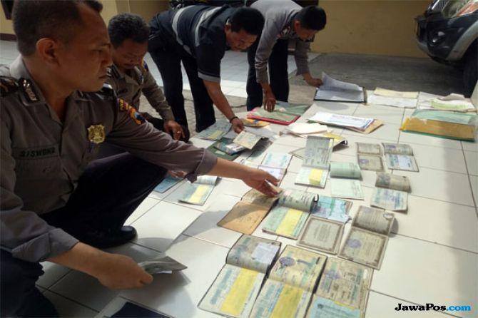 Terungkap, Puluhan BPKB yang Ditemukan di Sragen Milik Koperasi Kredit