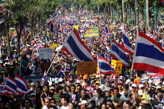thailand, larangan berpolitik,