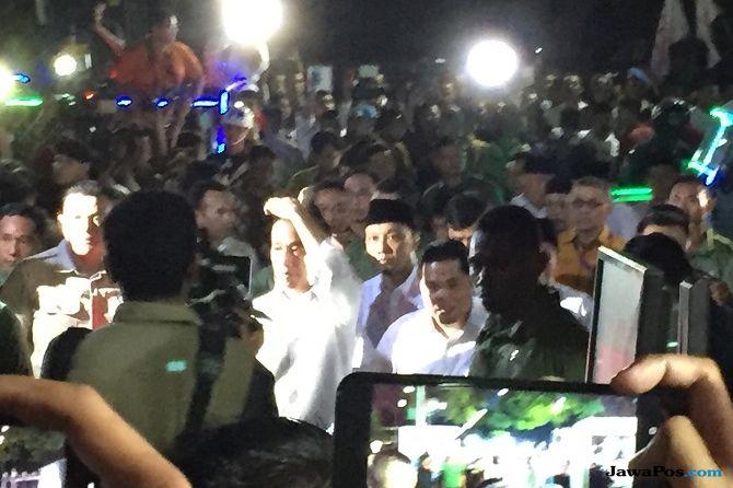 Tiba di KPU, Jokowi: No.1 Baik, No.2 Juga Baik