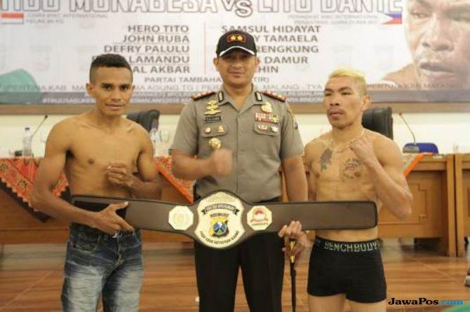 Tinju, Tibo Monabesa, Sabuk Emas Kapolres Malang, Lito Dante