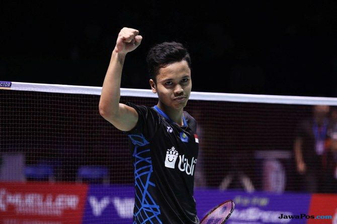 World Tour Finals 2018, Anthony Sinisuka Ginting, bulu tangkis, Indonesia
