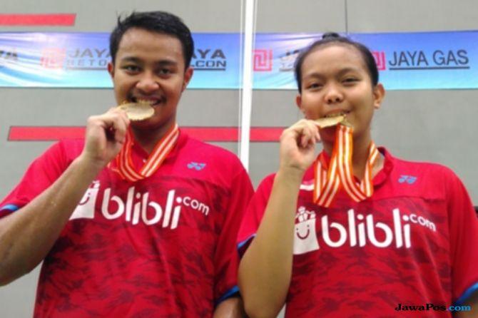 Vietnam Terbuka 2018, Indonesia, bulu tangkis, Rehan Naufal Kusharjanto/Siti Fadia Silva Ramadhanti