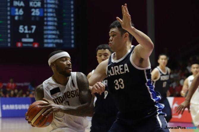Asian Games 2018, basket, Indonesia, Korea Selatan