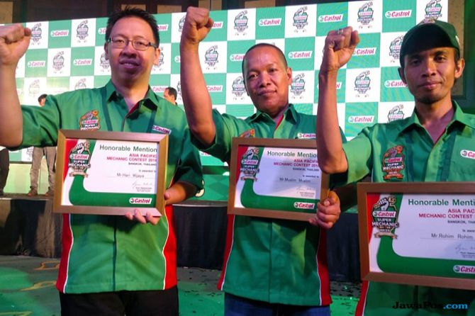 Castrol Asia Pasific Super Mechanic Contest