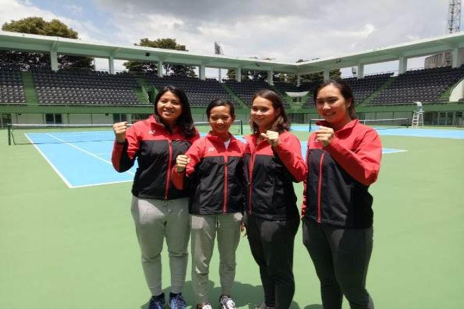 Tenis, Indonesia, Piala Fed
