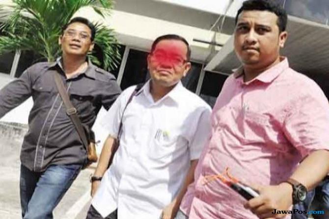 Tim Saber Datang, Tamu Disuruh Keluar, Bos Disdik Diangkut ke Mapolda