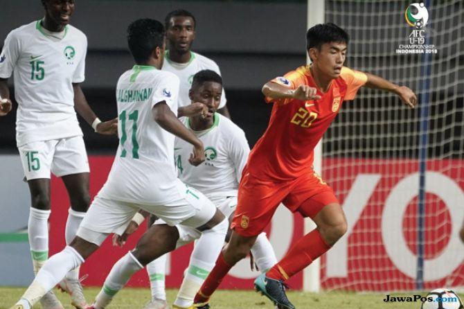 Piala Asia U-19 2018, Arab Saudi U-19, Tiongkok U-19, China U-19