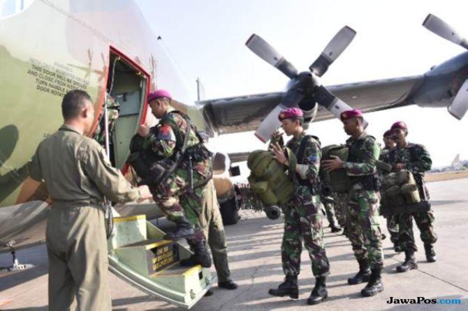 TNI Kirim 387 Prajurit Bantu Korban Gempa Lombok