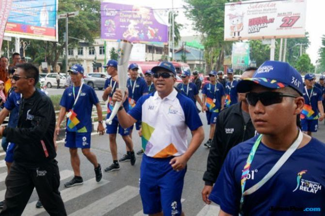 Torch Relay Asian Games di Jakarta Selatan, Ini Persiapan dan Rutenya