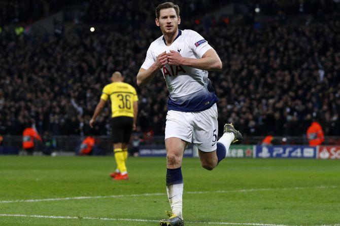 Tottenham Hotspur, Borussia Dortmund, Jan Vertonghen, Liga Champions