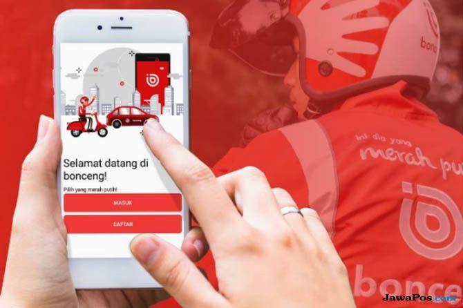 Bonceng, aplikasi Bonceng, Bonceng transportasi online