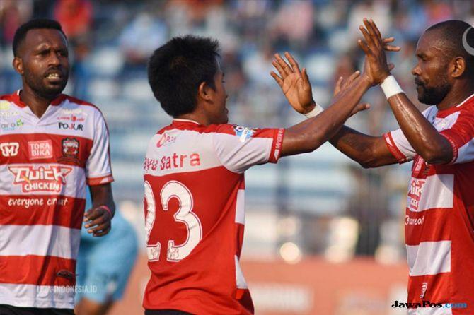 liga 1 2018, persela lamongan, Madura United, Madura United 2-1 Persela Lamongan