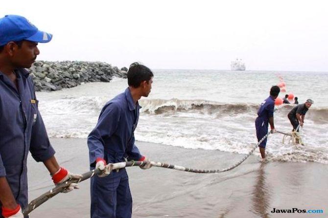 kabel laut, Triasmitra kabel laut,