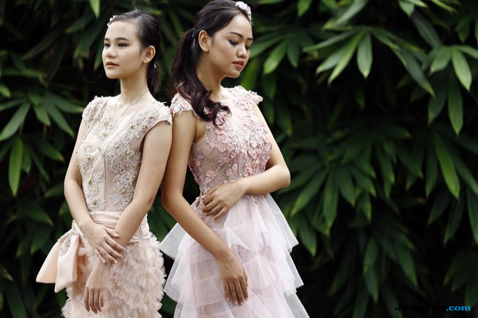 Tropical Paradise untuk Indonesia Fashion Week
