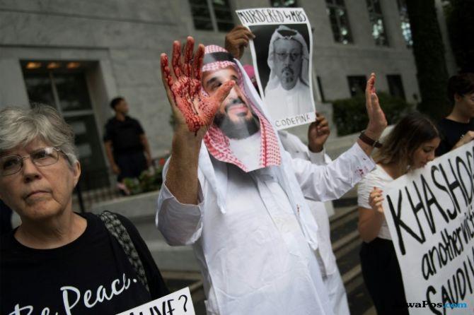 trump, khashoggi, wartawan dibunuh, arab saudi,