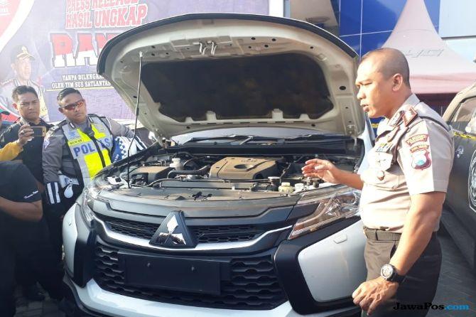 Tujuh Bulan, Polisi Amankan 30 Mobil Bodong di Surabaya