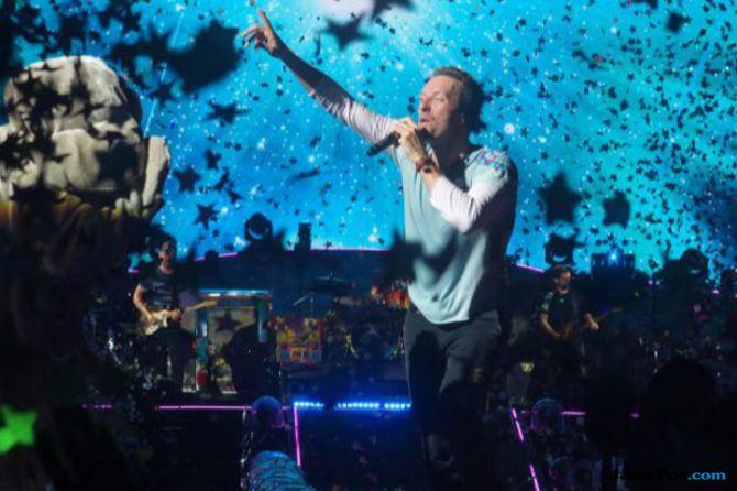 Coldplay Hasilkan Rp 1,1 Trilun dari Konser A Head Full Of Dreams 2017