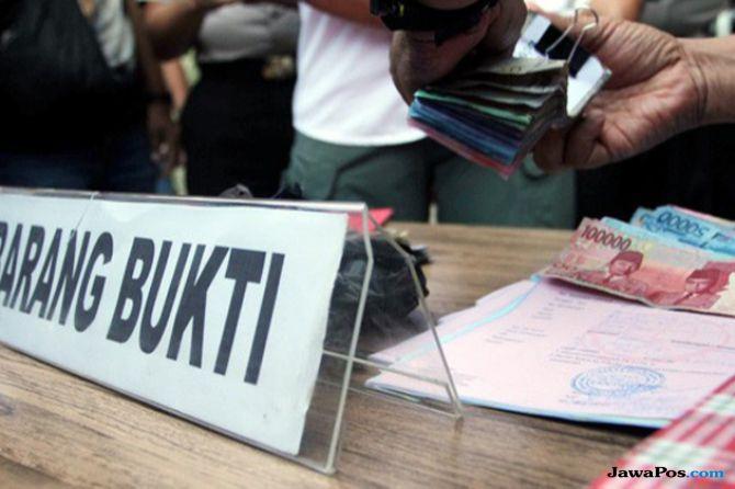 Uang Hasil Korupsi dan Karhutla Rp 5,1 Miliar Disetor ke Negara