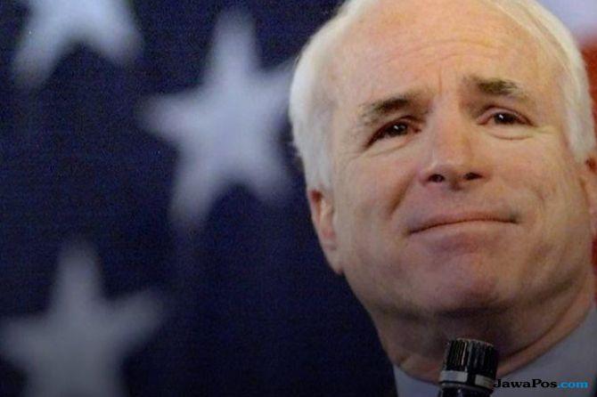 Ucapan Belasungkawa Para Pemimpin AS pada John McCain