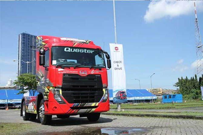 UD Truck Tawarkan Fitur Axel yang Bantu Keamanan Operasional Truk
