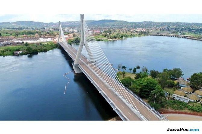 jembatan terpanjang, afrika,