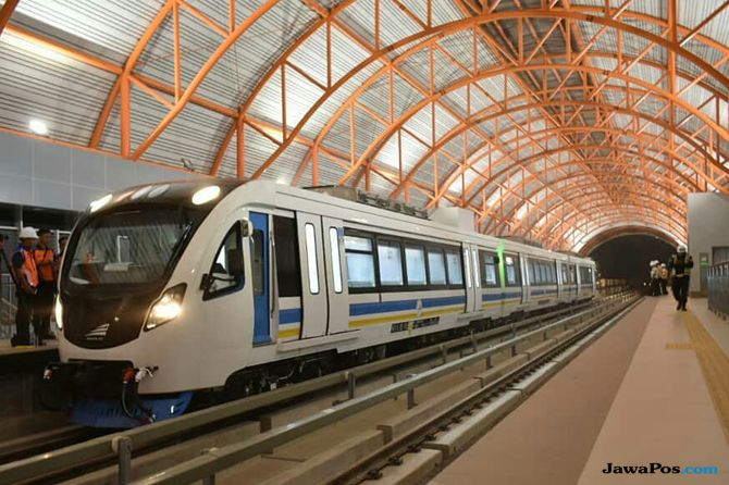 Uji Operasi LRT Kelapa Gading Digelar 15 Agustus, Penumpang Terbatas